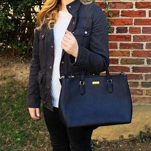 Kate Spade Black Laurel Way Evangelie Handbag